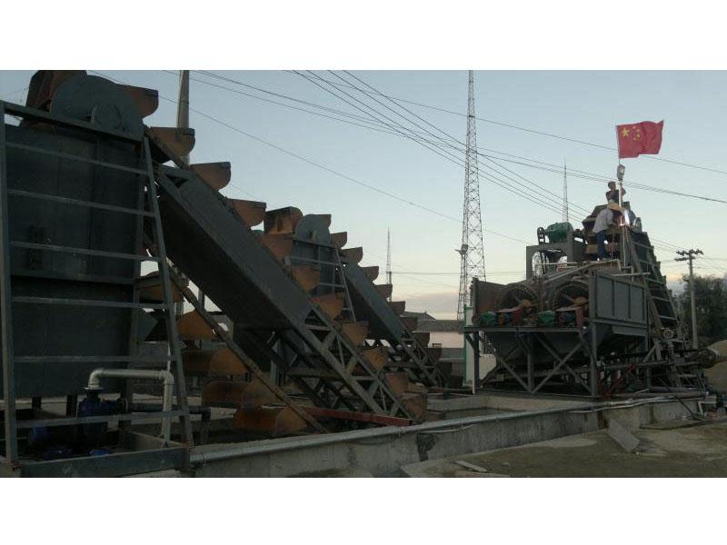大型洗沙设备xian场