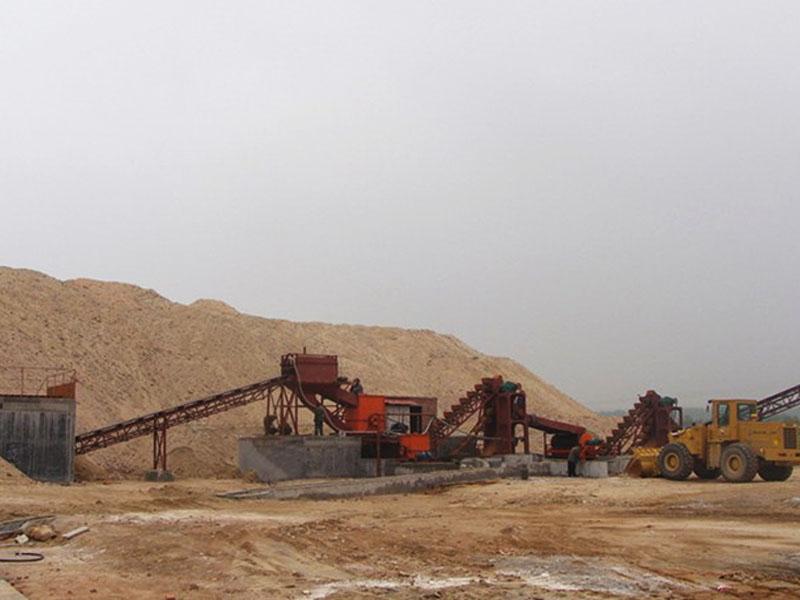 链斗制砂洗沙设备