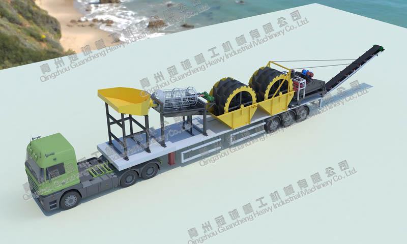 移动xi砂机械