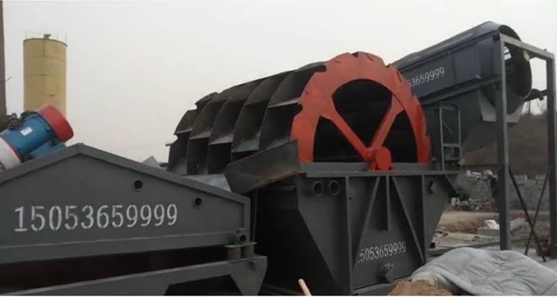 大型固定式洗sha机械