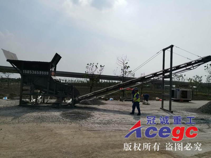 订制大中xiaoxingzhen动筛洗砂机械生产线