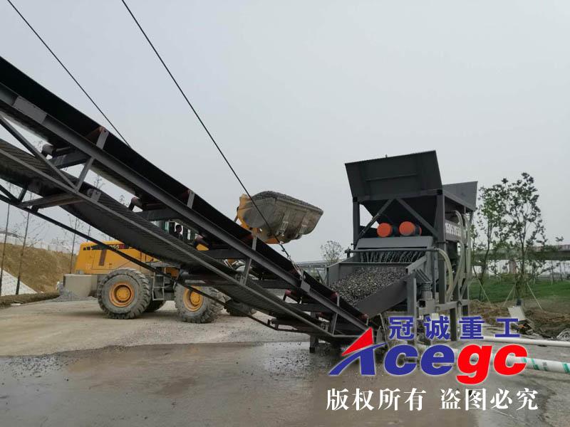 振动筛洗砂机xiesheng产线